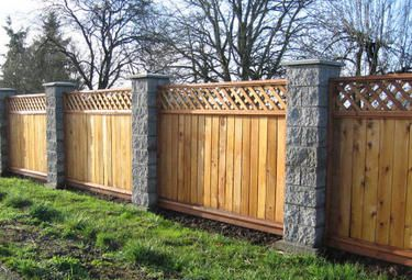Putting up 6 foot high wood fence and now wish we had bought 8 high fence (pool, stone) - remodeling, decorating, construction, energy use, kitchen, bathroom, bedroom, building, rooms - City-Data Forum
