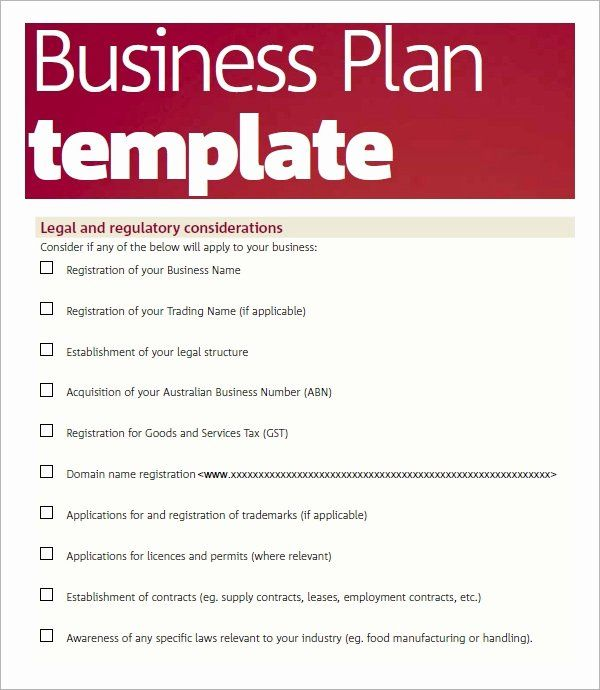Free Printable Business Plan Template Fresh Free 32 Sample Business Plans And Template Business Plan Template Word Business Plan Template Pdf Business Plan Pdf