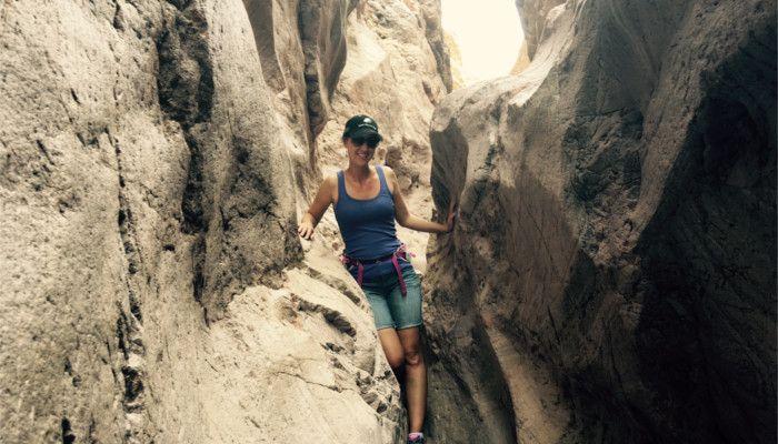 Hiking Crack in the Mountain Trail at Lake Havasu City's SARA Park!