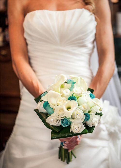 17 best images about ramos y bouquets de novia con rosas - Ramos de calas para novias ...