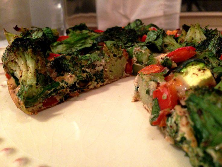 Good Breakfast idea. Veggie Eggie Bake. Body Ecology