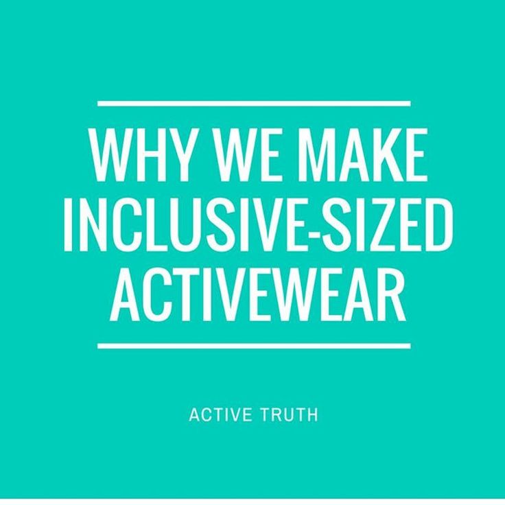 These are just a few reasons why we make inclusive-sized activewear... . 🔸we want to inspire women to find what works for them by promoting positive messages of loving and looking after your body for the right reasons – health, happiness, energy and enjoyment. 🔸healthy is an outfit that looks different on everyone. 🔸all women deserve to feel good in their activewear. 🔸nothing ruins a workout like cheaply-made or non-functional tights that sag, roll down or go see-through when you move…