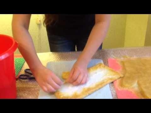 Усадка валяных изделий и как правильно увеличить выкройку для валяния - YouTube