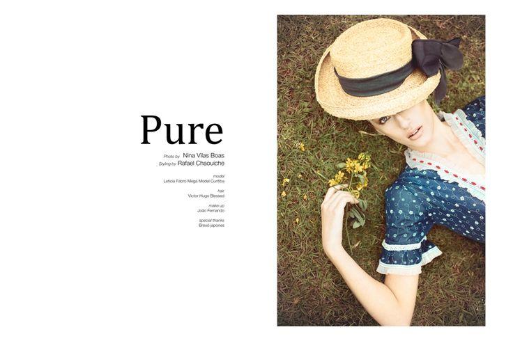 Photo wow-cover fashion editoral wow revista pure vintage moda retro