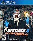Payday 2: Crimewave (Sony PlayStation 4 2015) used