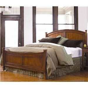 Thomasville cinnamon hill king low post panel bed for Bedroom furniture knoxville tn