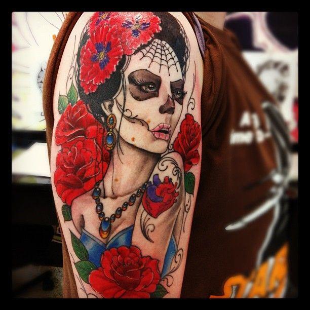 Catrina S Tattoo Tattoo De Catrina Tatuagem Mexicana