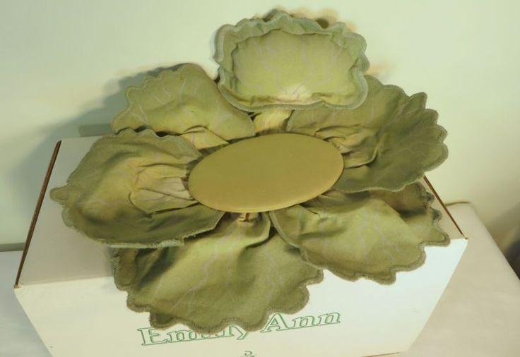 Muñecas Cabbage Patch porcelana Kids 1998 Emily Ann Danbury Mint Con Caja