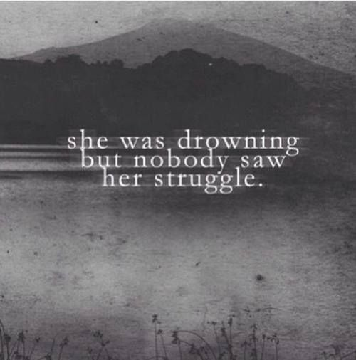 Quotes About Drowning In Depression: 83 Best Depression Quotes Images On Pinterest