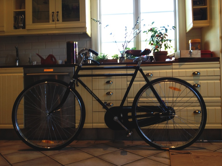 Black super fast flying pigeon bike!