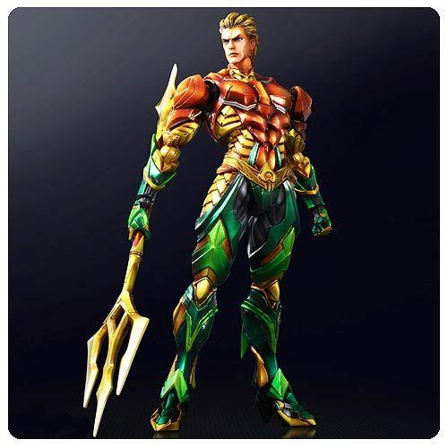 Aquaman DC Comics Play Arts Kai Variant Action Figure