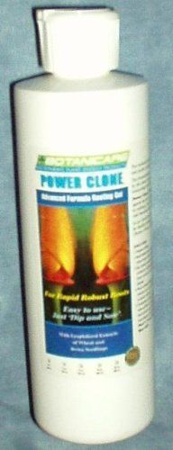 Botanicare Power Clone Gel - 8 Oz by Botanicare. $26.52. POWER CLONE - Rooting Gel - For rapid, robust roots. Made for serious gardeners who prefer to use cuttings for propagating their favorite plants. POWER CLONE Rooting Gel was formulated utilizing the latest advances in plant molecular biology and DNA technology to make it the most effective rooting gel available. Now, you too can benefit from the most significant technological breakthrough in plant propagation even if you...
