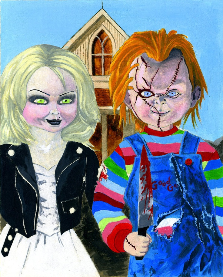 No Hart Art American Gothic Parodies School T