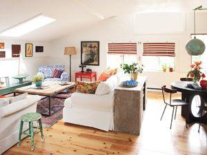 Small Apartment Decorating - Apartment Decor; Photo: Anne Schlechter
