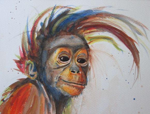 Best 25 Monkey art ideas on Pinterest Black monkey pro