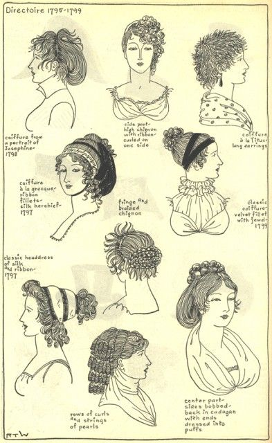 Village Hat Shop Gallery :: Chapter 12 - Directoire 1795-1799 :: 192_G