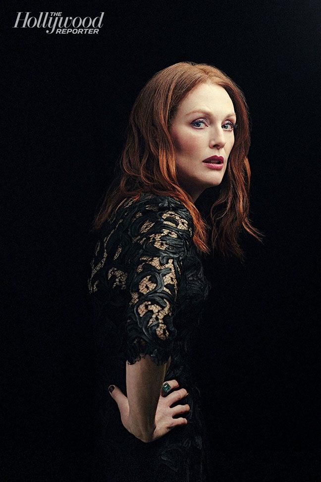 JULIANNE MOORE STARS IN THE HOLLYWOOD REPORTER, SAYS SHE DOESN'T BELIEVE IN GOD