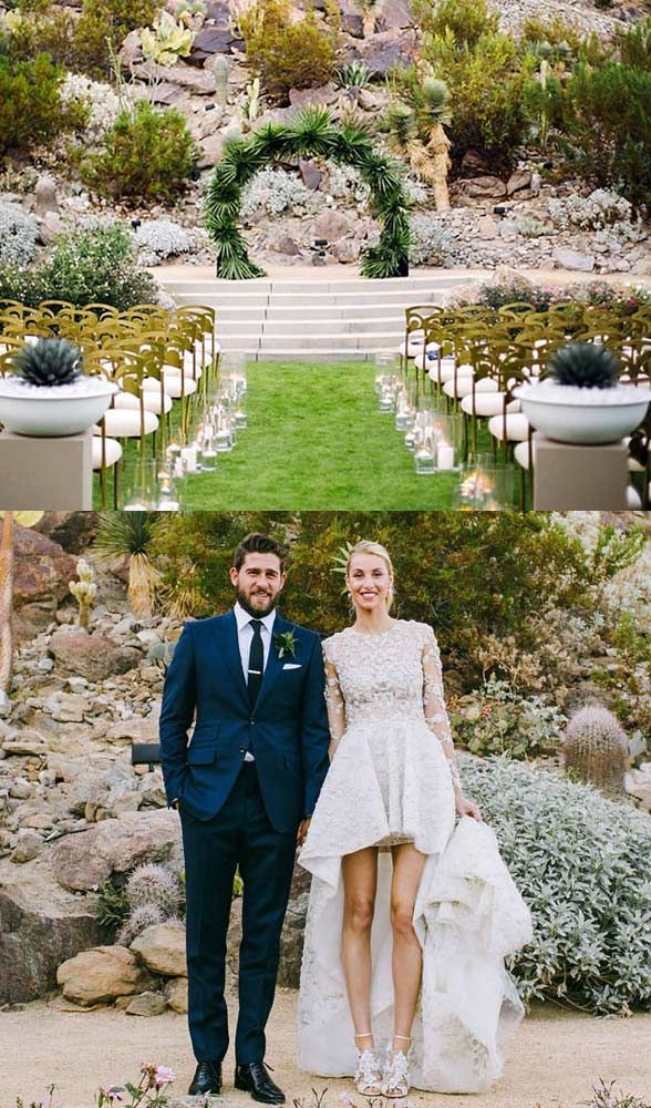free wedding venues in california%0A Whitney Port u    s wedding venue in Palm Springs  CA  Photo via USweekly