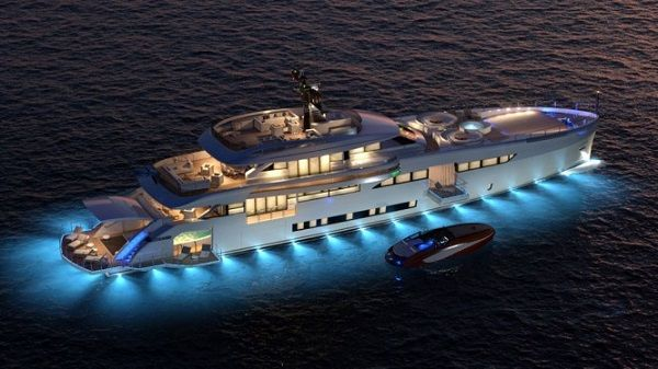 The State of the Art Wider 165' Superyacht