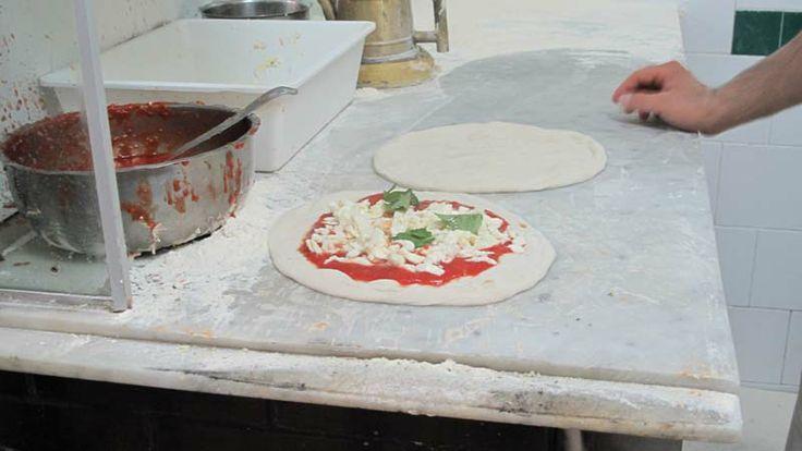 Naples: Da Michele Pizzeria and Scaturchio Pasticceria – food as art. Copyright L' Antica Pizzeria da Michele