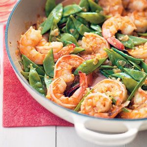Gingery Shrimp and Couscous Recipe | MyRecipes.com Mobile