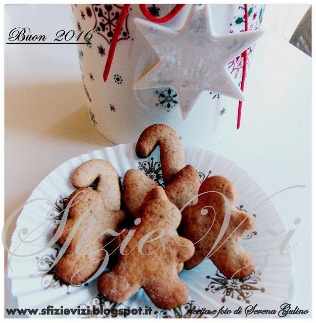 Sfizi & Vizi: Omini di panpepato gingerbread men - ricetta senza...