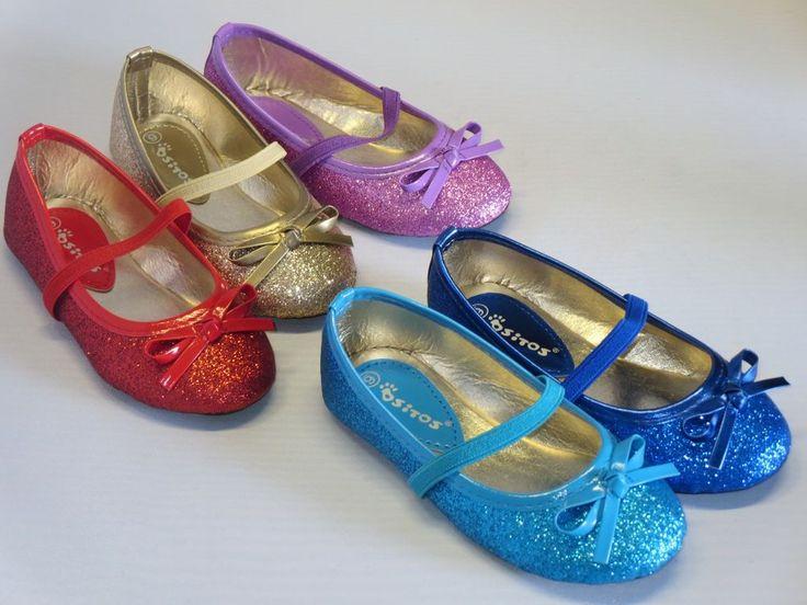 Girls Glitter Ballet Flats (fwd-03i) Toddler Princess Costume Elsa Sophia Rapunz #Girls #Flats