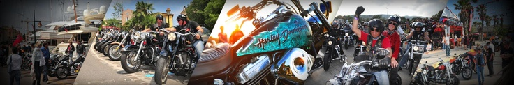 Thousands of Harley-Davidson bikes are invading Rome this week-end. Spectacular! http://eepurl.com/ANSE9