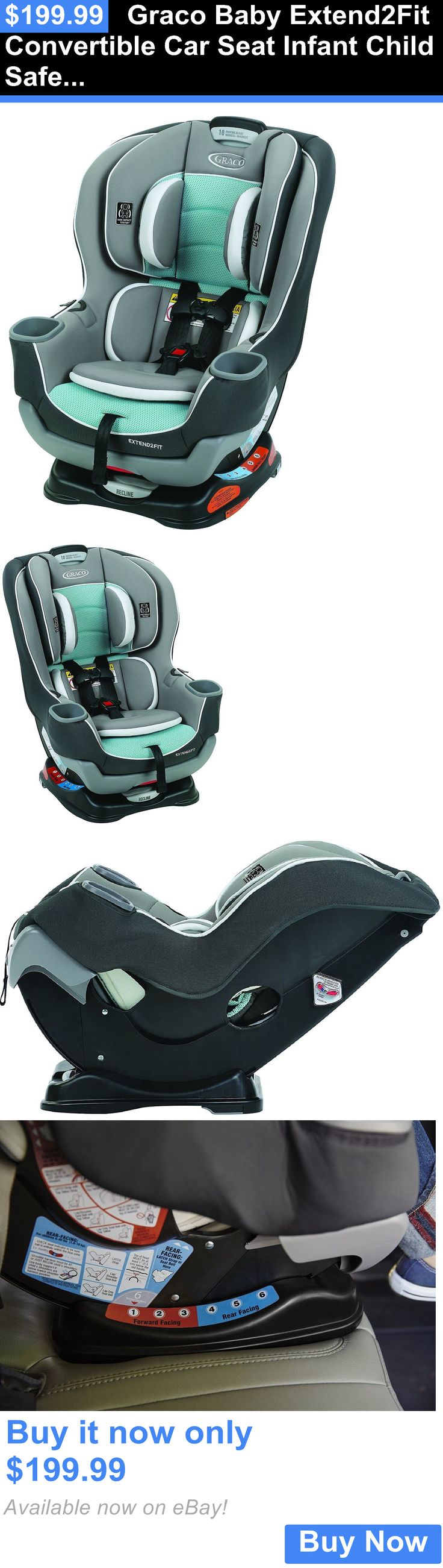 Baby graco baby extend2fit convertible car seat infant child safety spire new buy it now