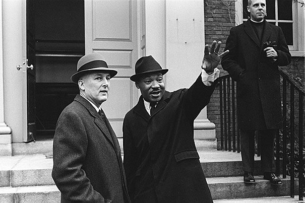 Martin Luther King Jr., the civil rights icon whose national day of commemoration is Monday, was no stranger to Harvard University.
