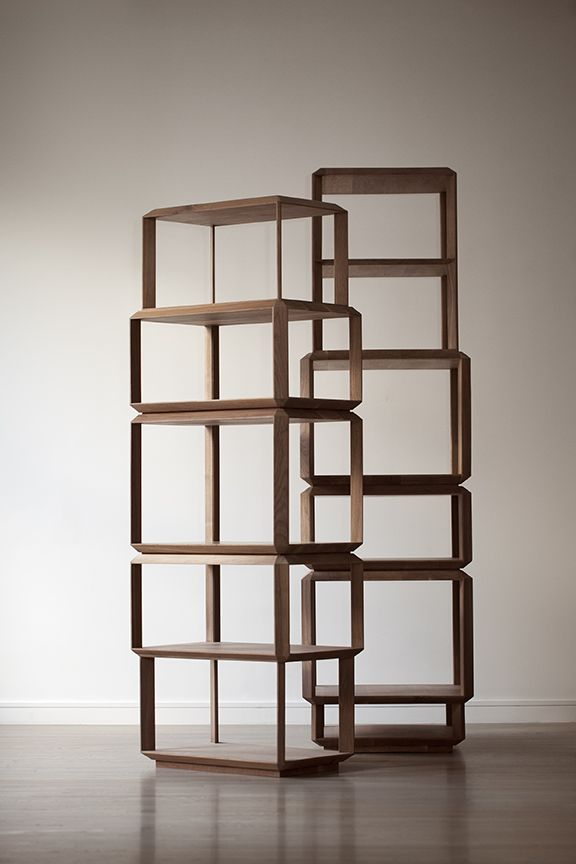 Modular Interlocking Bookcases
