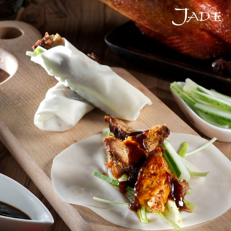 Feeling peckish? Let the aroma of our Crispy Aromatic Duck  waft through your senses!