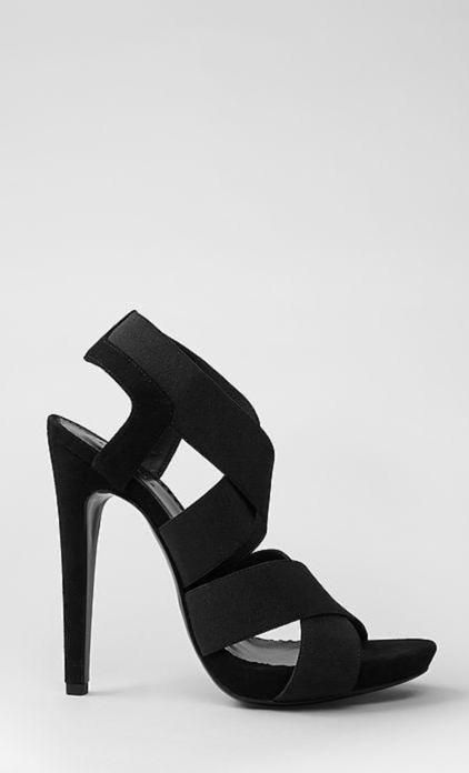 Kane strappy heels from AllSaints