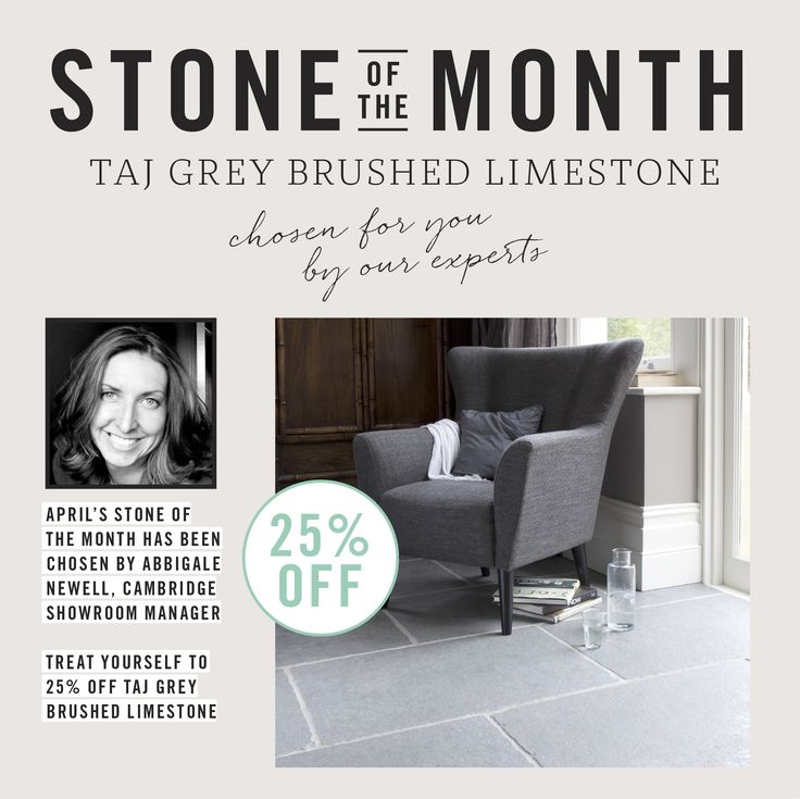 April Stone Of The Month Taj Grey Limestone Mandarin