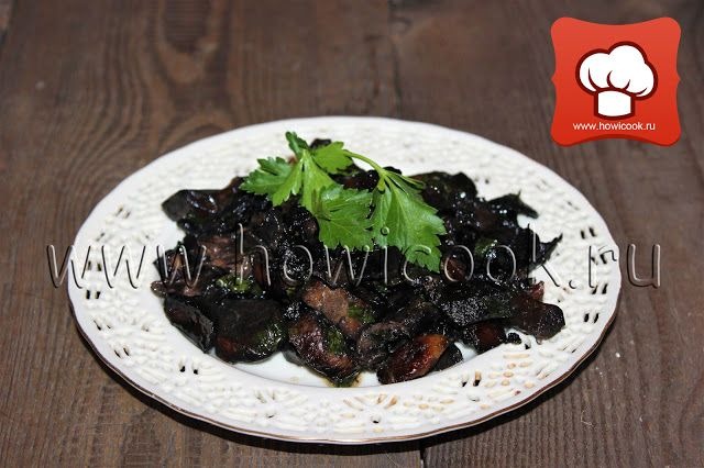 Жареные грибы (итальянская кухня)