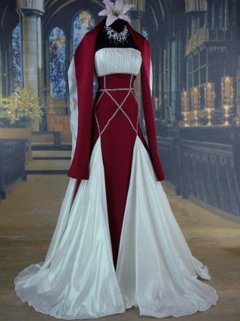 29 best Gothic weddings images on Pinterest   Homecoming dresses ...