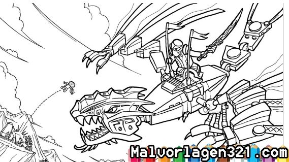 Ausmalbilder Ninjago Drachen Ninjago Ausmalbilder Ausmalbilder Drachen Ausmalbilder