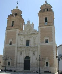Almeria Velez Rubio Iglesia de la Encarnación