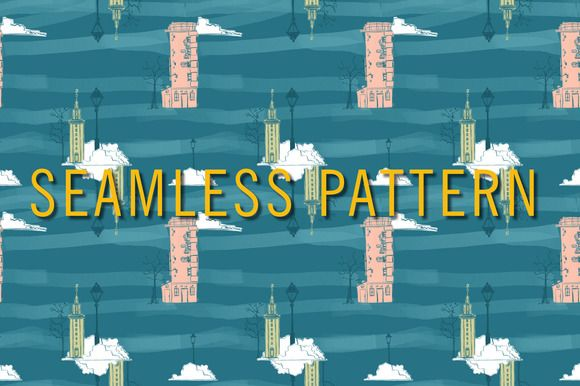 seamless pattern by Storyteller Imagery on @creativemarket