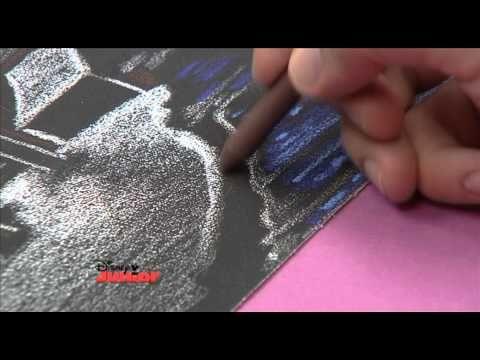 Art Attack - Texture Drawing - Sandpaper