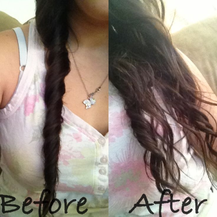how to make hair wavy after shower