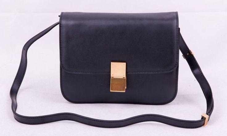 Сумка CELINE classic box bag черная