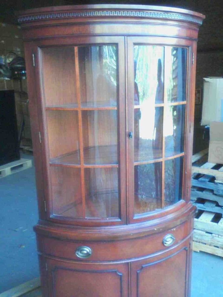 Corner China Cabinets for Sale