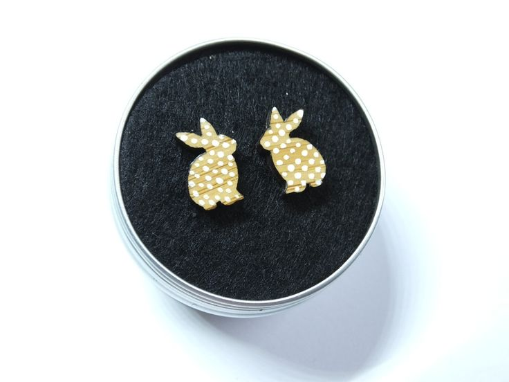 110 best the mountain and me jewellery images on pinterest bead bunny rabbit earrings laser cut jewellery rabbit lover gift easter bunny bunny negle Image collections