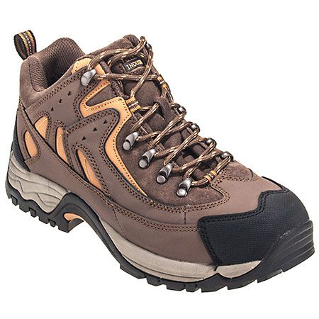 McRae Boots MR81302 Mens Brown Steel Toe Hiking Boots