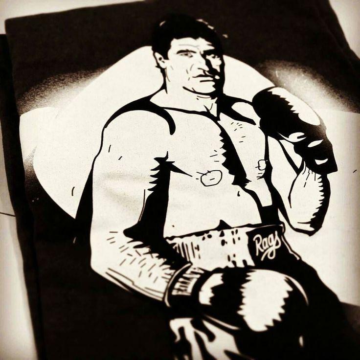 PARLOV | T-SHIRT http://ift.tt/1Xrnrlb  #tshirt #boxing #fight #boxer #fighter #champion #box #sport #fighting #antifa #punk #antifascist #afa #antifascista #sharp #streetart #liberty #liberal #antinazi #art #tee #clothing #shirt #design #streetwear #tshirts #apparel #print #handmade #illustration  Mate Parlov (1948  2008) was a Yugoslav boxer of Croatian origin and Olympic gold medalist who was European and World Champion as an amateur and as professional. Parlov is widely considered the…