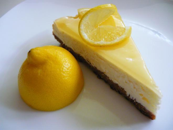 Lemon cheesecake alebo osviežme si deň... / dzinus » SAShE.sk - slovenský handmade dizajn