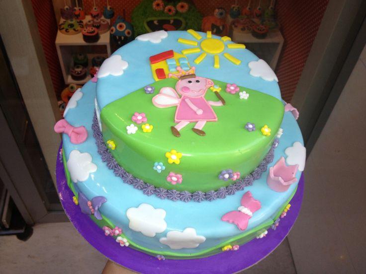 Τούρτες Γενεθλίων - Πέπα νεράιδα! #sugarela #TourtesGenethlion #BirthdayCakes