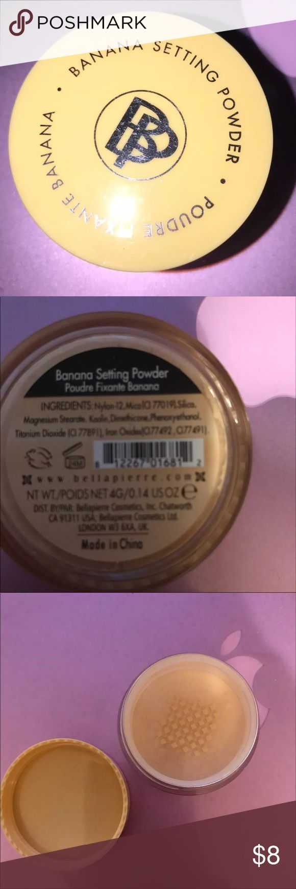 Banana Setting Powder by bellapierre Brand New. Sealed. Makeup Face Powder