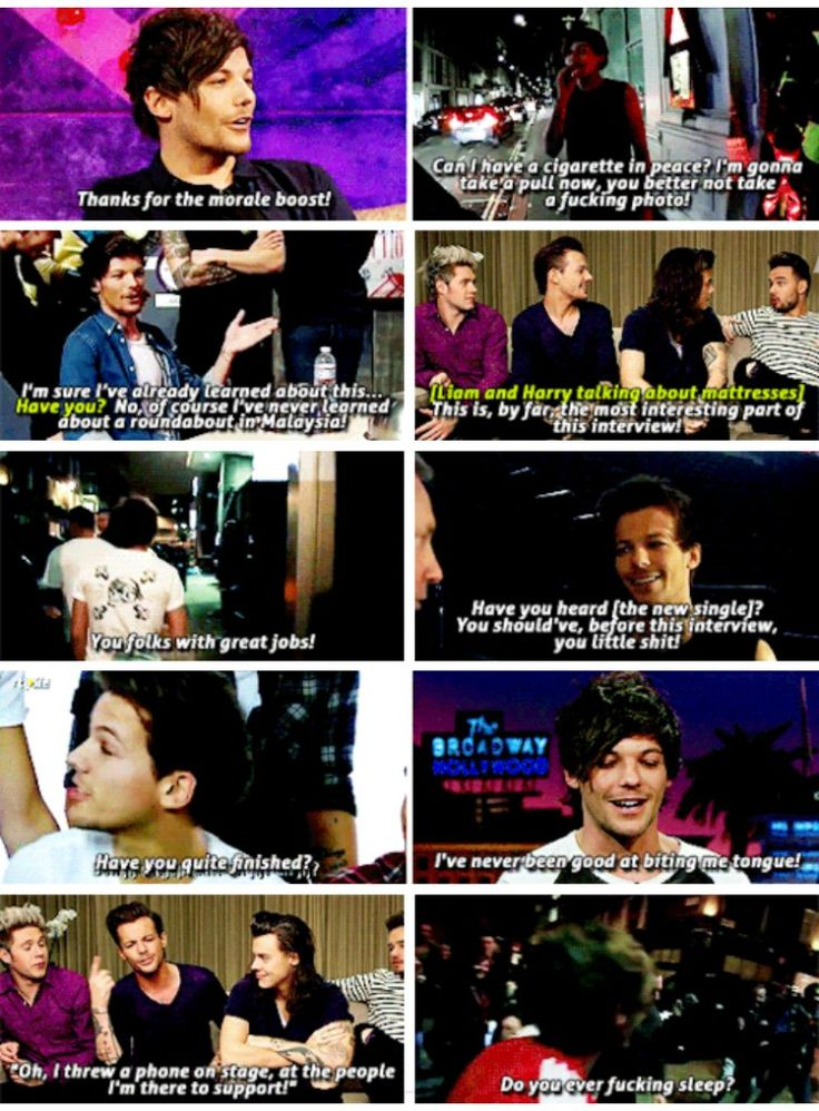 I present you the ultimate sass queen: our very own Louis tomlinson